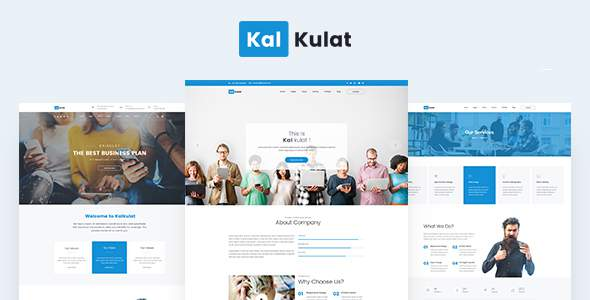 Kalkulat - Multipurpose Business WordPress Theme            TFx Shin Palmer