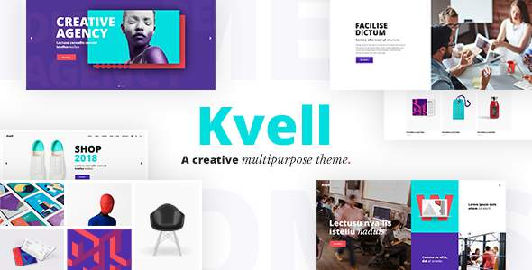 Kvell - A Creative Multipurpose Theme for Freelancers and Agencies            TFx Kipling Peter