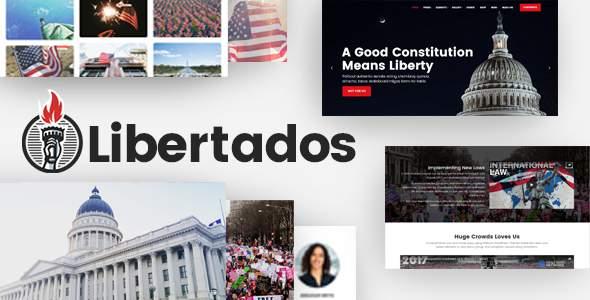 Libertados - Political WordPress Theme            TFx Cedar Spike