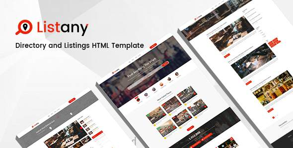 Listany - Directory and Listings HTML Template            TFx Foster Clifton