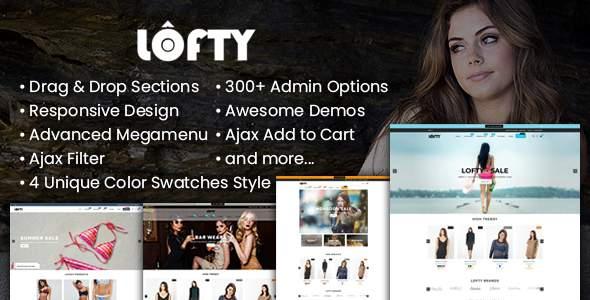Lofty - Clean & Minimal Shopify Sections Theme            TFx Kiaran Minoru