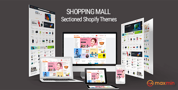 MAXMIN - Dropshipping AliExpress Clone Shopify Theme - Super Fast, Sections Frontpage Builder            TFx Kristopher Yaxkin