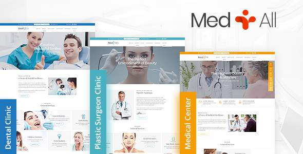 MedAll - Medical HTML Website Template            TFx Kohaku Thane