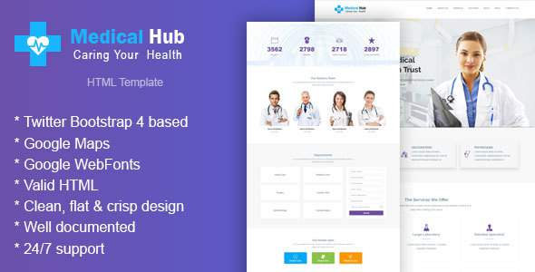 Medicevo – Health and Medical HTML Template            TFx Warrick Zechariah