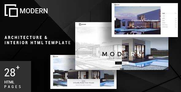 Modern – Architecture & Interior Template            TFx Kelley Cy