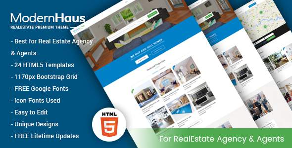 ModernHaus – Real Estate HTML Template            TFx Gusti Attila