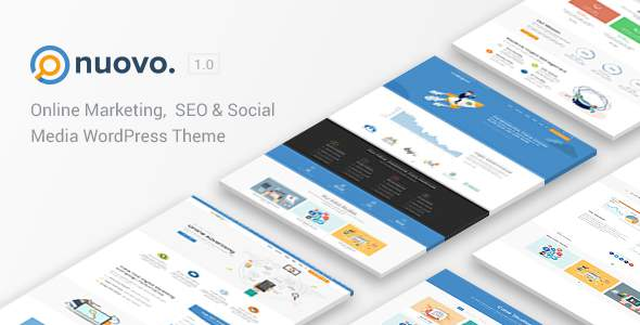 Nuovo - A WordPress Theme for Digital Agencies            TFx Dolph Elmer