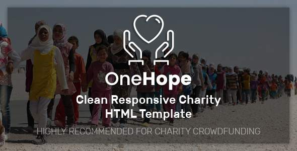 OneHope – Charity HTML Template            TFx Swithin Haru