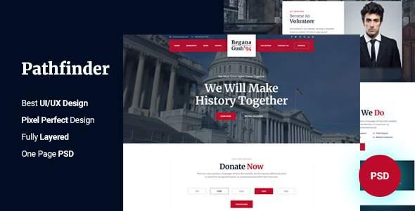 Pathfinder - Political PSD Templates            TFx Stew Teddy