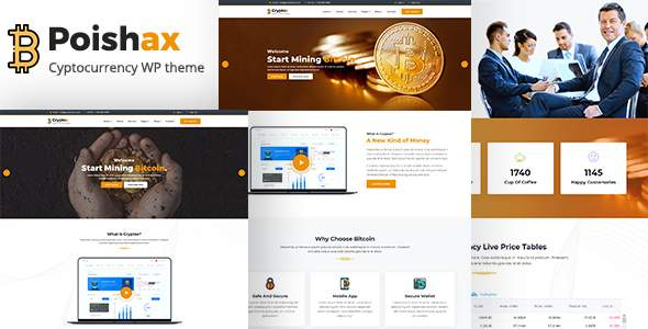 Poishax - Digital Cryptocurrency WordPress Theme            TFx Hollis Tracey