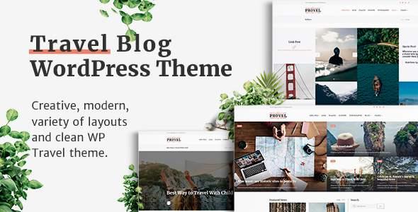 Provel - Modern Blog & Magazine Theme            TFx Patton Rian