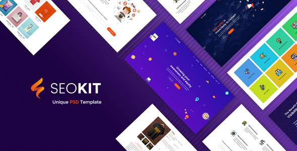 SEOKIT – Digital Marketing & SEO Agency PSD Template.            TFx Colby Maurice