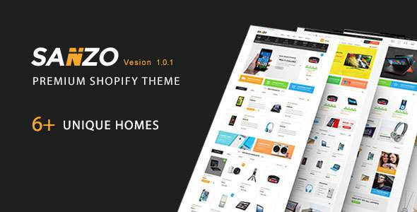 Sanzo - Multipurpose Premium Responsive Shopify Themes - Supermarket, Electronics            TFx Scottie Finlay