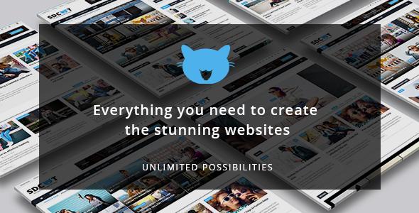 Shadowcat - A News and Magazine WordPress Theme            TFx Quinn Jocelyn