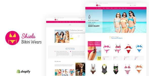Sheila - Bikini Store Shopify Theme            TFx Gray Wilf