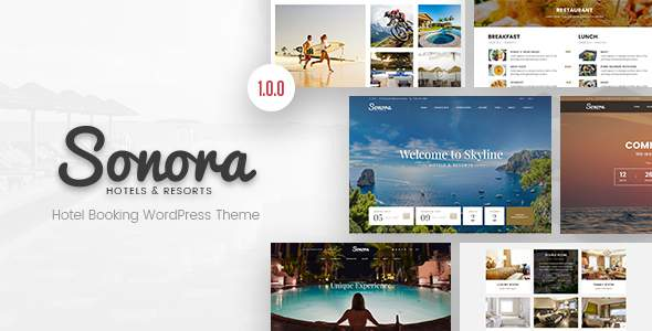 Sonora – Hotel Booking WordPress Theme            TFx Zoroaster Moses