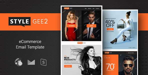 Stylegee 2 - Responsive Ecommerce & Shopping Email Template            TFx Drake Sherman