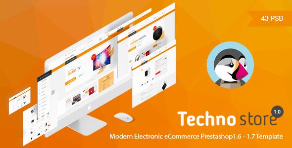 Technostore Responsive Prestashop 1.6 Theme            TFx Brand Emmerson