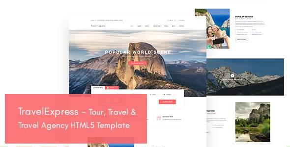 TravelExpress - Tour, Travel & Travel Agency HTML5 Template            TFx Dane Louis