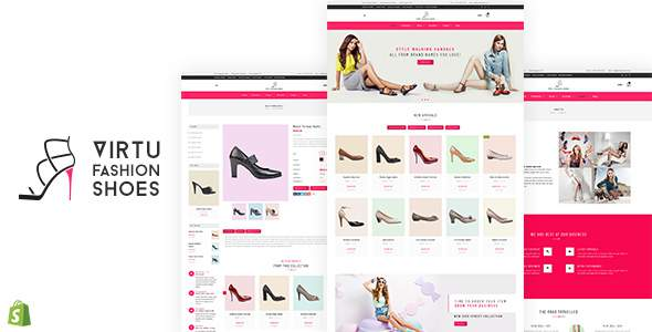 Virtu - Fashion Shoes Store Shopify Theme            TFx Alva Archie