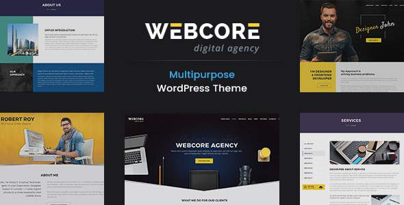 Webcore - Portfolio and Agency WordPress Theme            TFx Nevil Hikaru