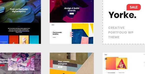 Yorke - Creative Portfolio WordPress Theme            TFx Smith Esmund