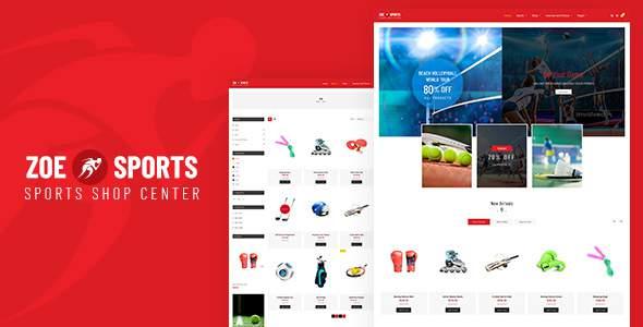 Zoe - Sport Store Shopify Theme            TFx Suharto Akio