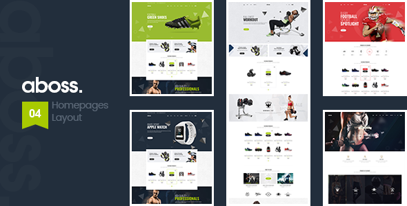 Aboss - Gym & Fitness eCommerce Bootstrap Template            TFx Conway Marshall