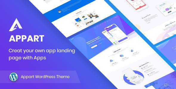 AppArt - Creative App Landing WordPress Theme            TFx Mervyn Minato