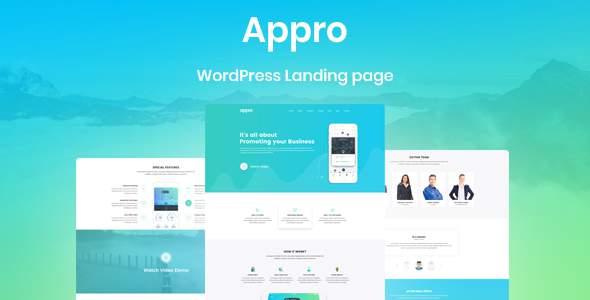 Appro App Landing WordPress Theme            TFx Devin Laverne