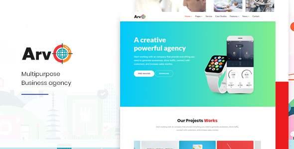 Arvo-Multipurpose HTML Template            TFx Ace Prince