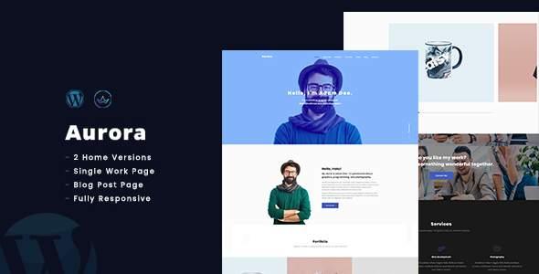 AuroraX - Portfolio WordPress Theme            TFx Zhirayr Leroi