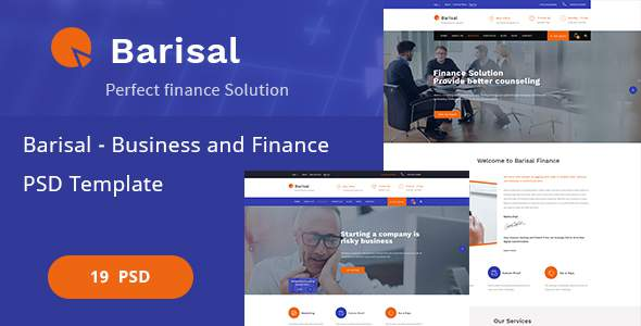 Barisal – Business and Finance PSD Template            TFx Gore Marvin