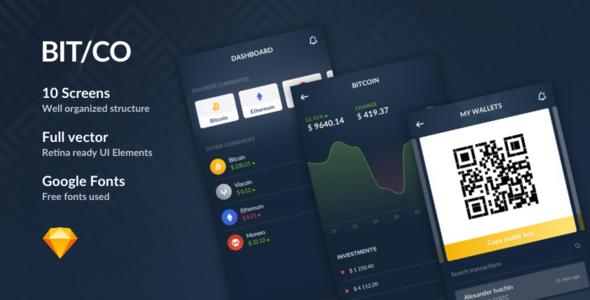 Bitco - Sketch Crypto App            TFx Jesse Aubrey