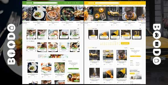 Boodo WP - Food and Magazine Shop WordPress Theme            TFx Abe Jerrard