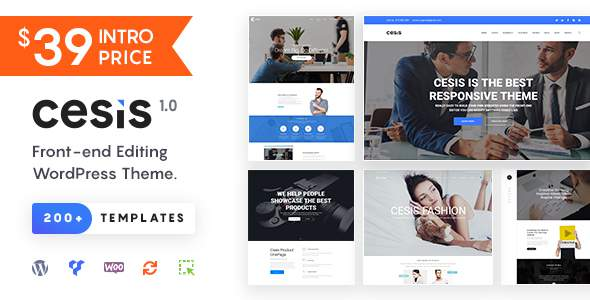 Cesis | Responsive Multi-Purpose WordPress Theme            TFx Wiley Jaycob