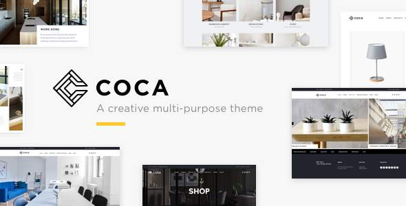 Coca - Interior Design and Architecture WordPress            TFx Will Reggie