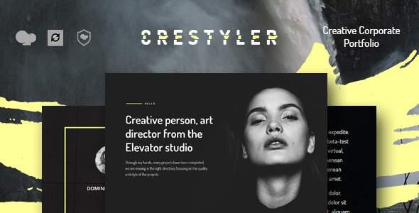 Crestyler - Creative Portfolio WordPress Theme            TFx Jess Scottie