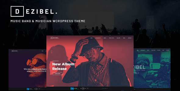 Dezibel - Music Band & Musician WordPress Theme            TFx Vance Rusty
