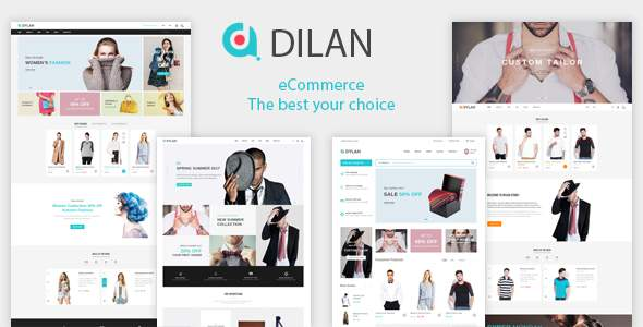 Dilan – Fashion eCommerce HTML5 Template            TFx Quincy Wayna