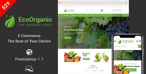 EcoOrganic - Prestashop 1.7 Responsive Theme            TFx Henry Darden