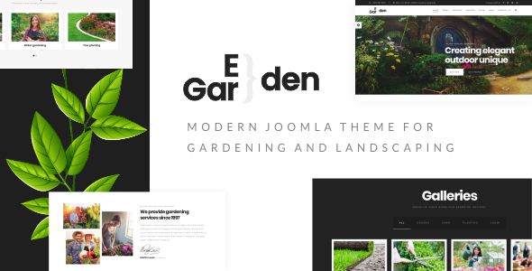 Eden Garden - Gardening, Lawn & Landscaping Joomla Template            TFx Ferdy Windsor