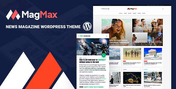 MagMax - News Magazine WordPress Theme            TFx Lindon Plutarch