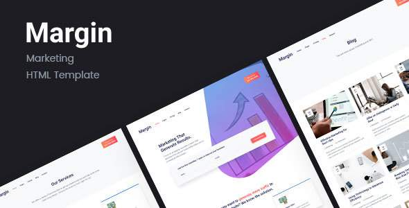 Margin | Marketing HTML Template            TFx Evan Albert