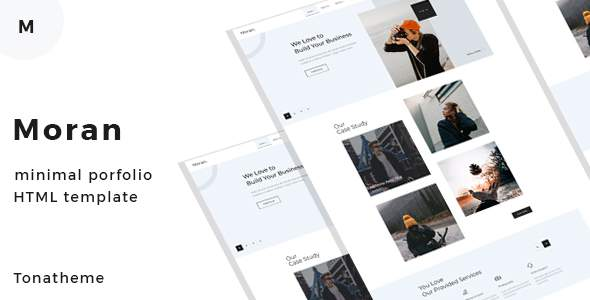 Moran - Minimal Portfolio HTML Template            TFx Val Yohanes
