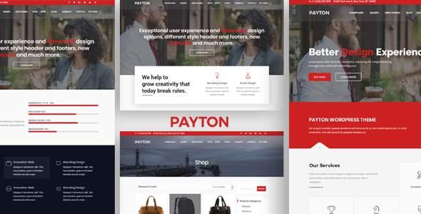 Payton - Multipurpose Responsive WordPress Theme            TFx Greg Cherokee