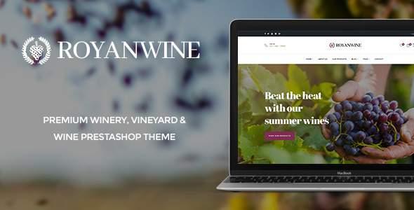 Pts Royan Wine – Winery & Wine Prestashop Theme – Prestabrain            TFx Diocletian Ara
