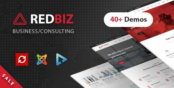 RedBiz - Business & Consulting Multi-Purpose Joomla Template            TFx Wenceslas Tully