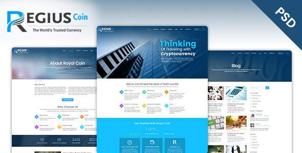 Regius Coin PSD Template            TFx Davey Swithin