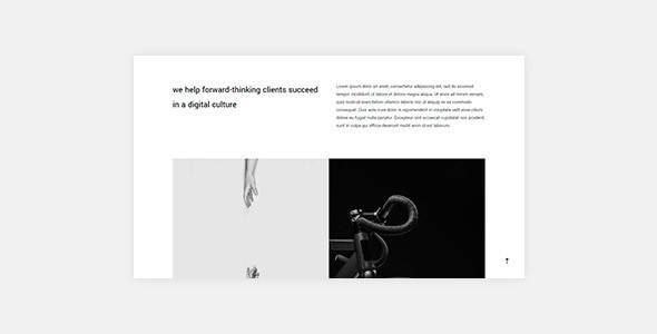 Sima - Creative HTML Portfolio Template            TFx Ashley Eliott